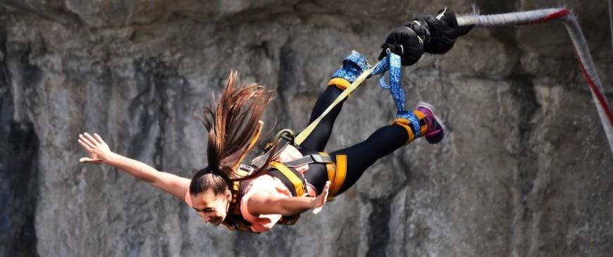 Les plus beaux spots de saut à l'élastique en France